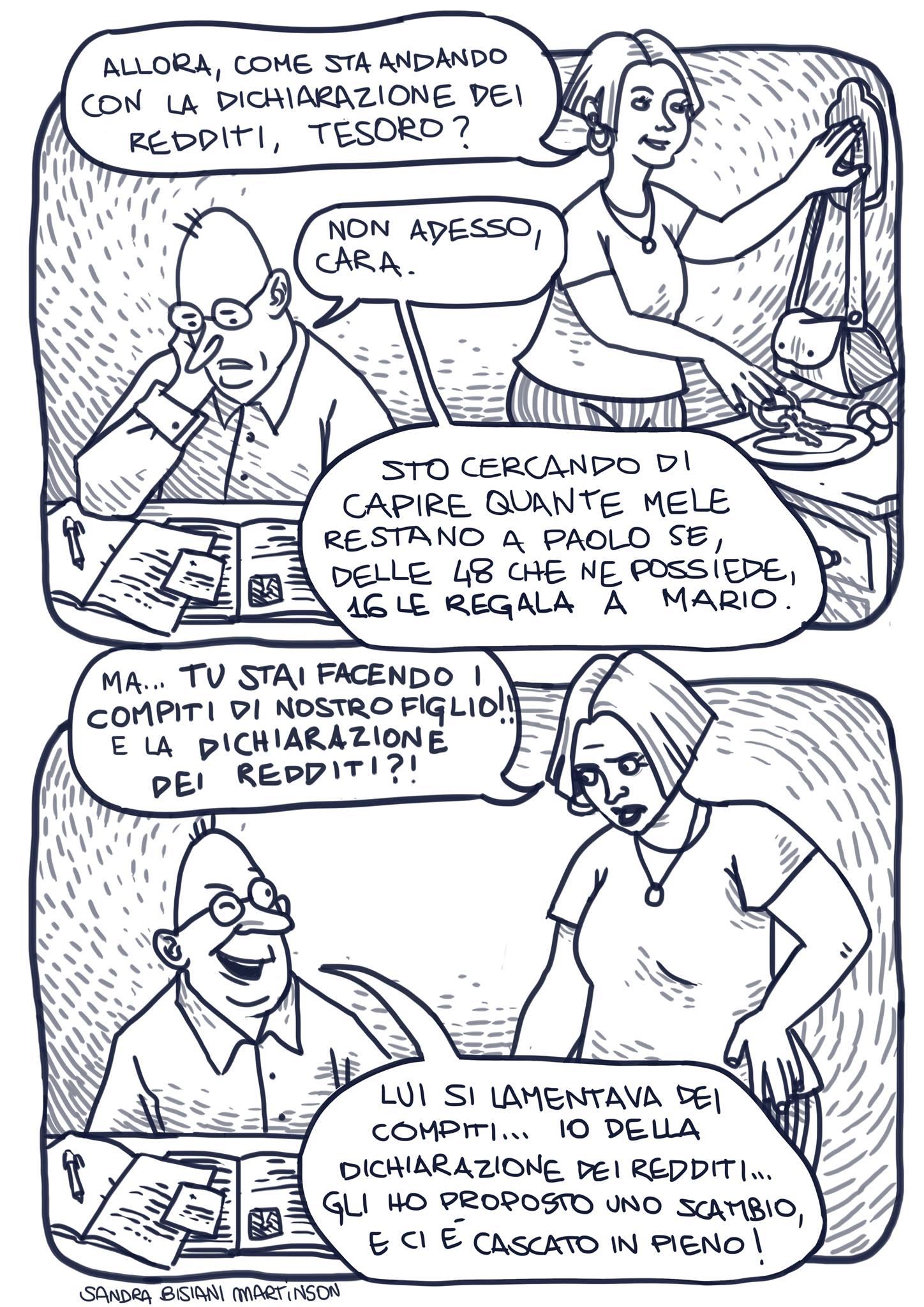 Vignetta Sandra Bisiani Martinson